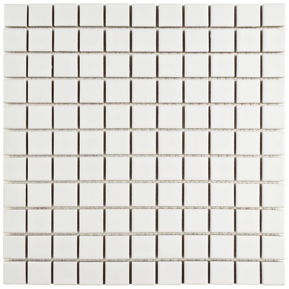 Merola Tile Metro Subway Matte White 11-3/4 in. x 11-3/4
