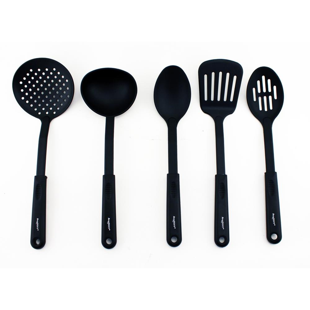 kitchen tool set las vegas hotels with berghoff studio nylon of 5 2211327 the home depot