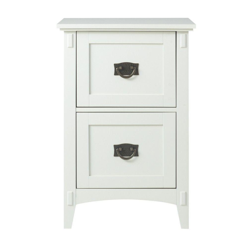 Home Decorators Collection Oxford White 285 in File