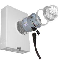 generlink 30 amp meter mounted transfer switch [ 1000 x 1000 Pixel ]