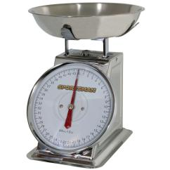 Kitchen Weight Scale White Porcelain Sink Sportsman Analog Food Ssdscale The Home Depot