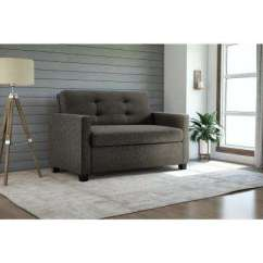 Square Sofa Beds Best Available In Canada Bed Linen Sofas Loveseats Living Room Donna Grey Twin Sleeper With Memoir Memory Foam Mattress