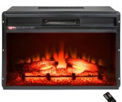electric insert fireplace heater