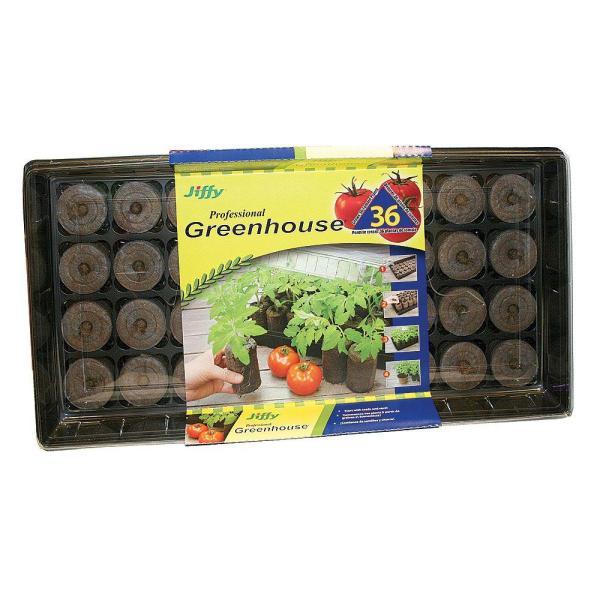 Jiffy Tomato Starter Greenhouse-313126 - Home Depot