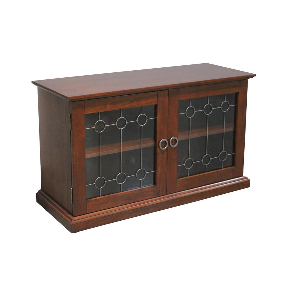 Home Styles Franklin Media TV Stand Cabinet in Cherry5081