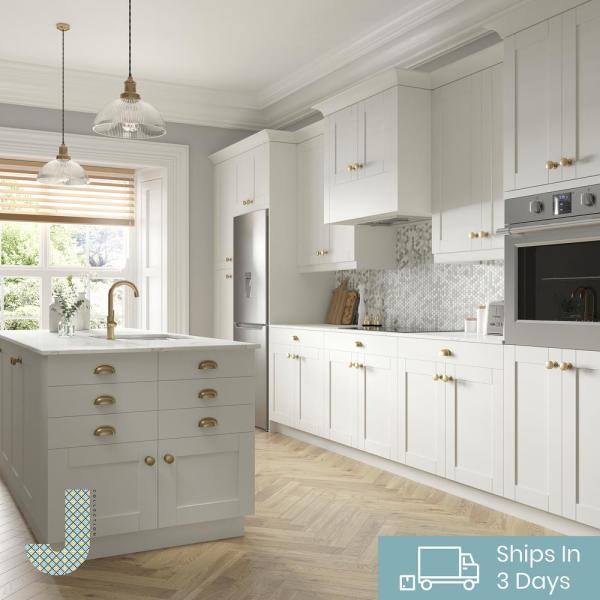 J Collection Shaker Assembled 18 In X 94 5 In X 24 In Pantry Cabinet With Five Inner Drawers In Vanilla White Tt50182494 5i5 L R Ws The Home Depot