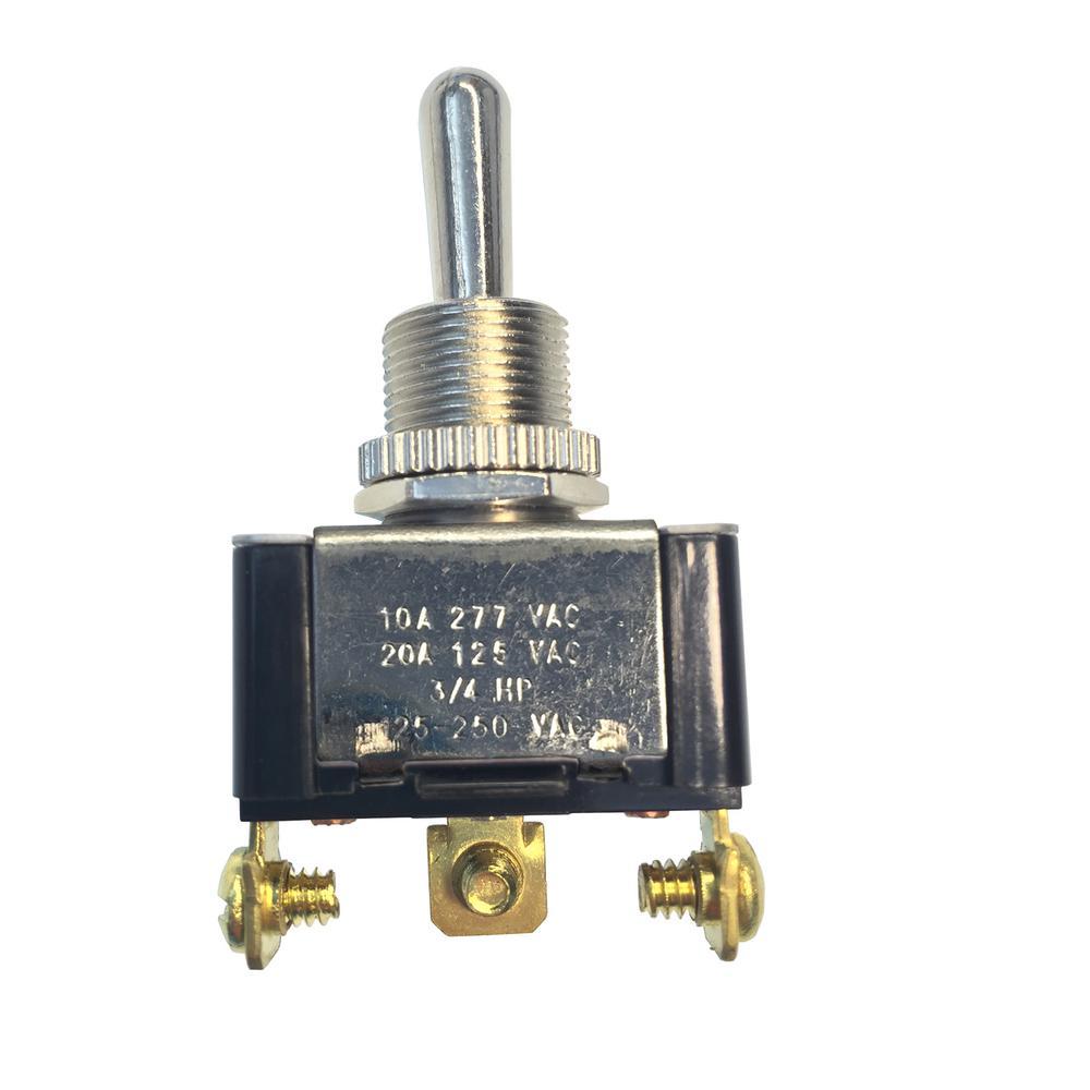 hight resolution of gardner bender 20 amp 125 volt ac spdt toggle switch case of 5