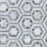 Splashback Tile Kosmos Carrera and Moonstone Hexagon 11-3 ...