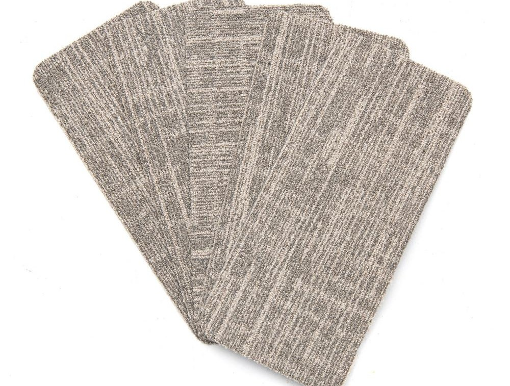 Nance Carpet And Rug Peel And Stick Earthtone Indoor Outdoor 8 In | Home Depot Carpet Treads | Ottomanson Softy | Tread Covers | Rugs | Staircase | Stairs