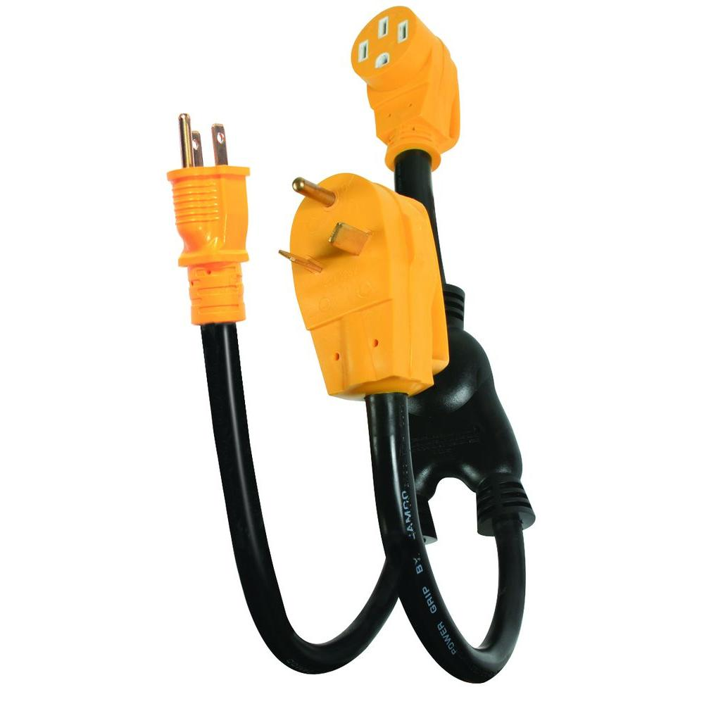 hight resolution of camco 50 amp power grip power maximizer adapter