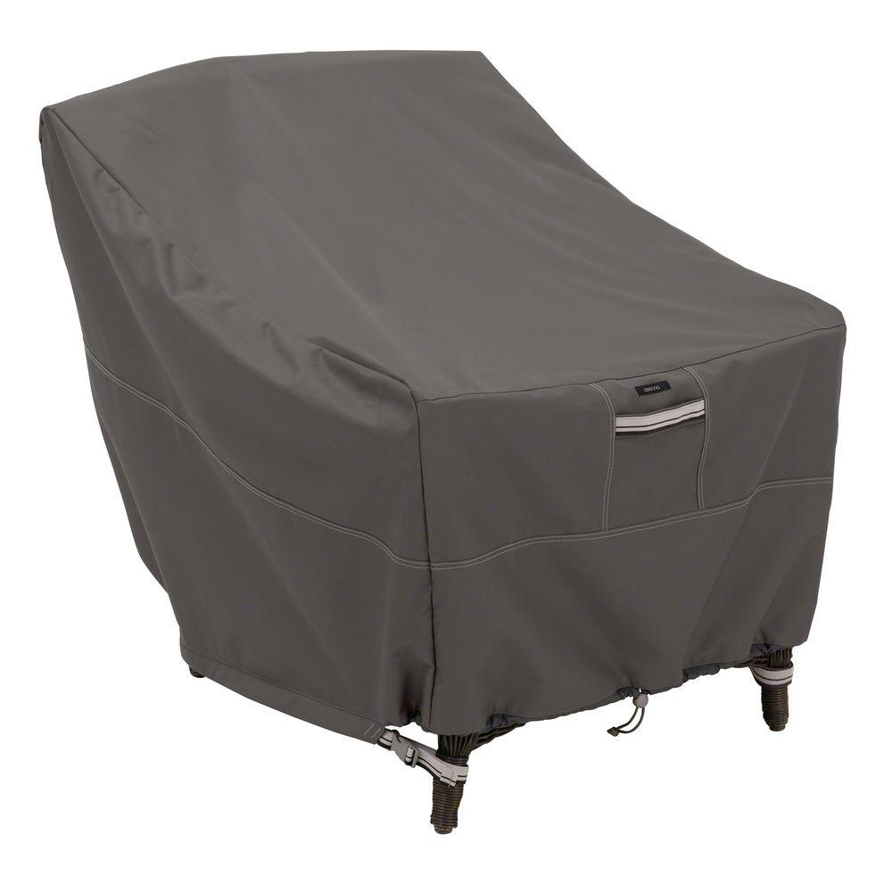 chair covers gray antique white wood desk classic accessories ravenna adirondack patio cover 55 165