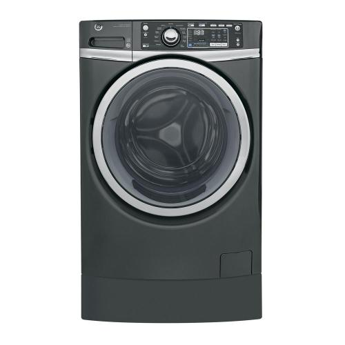 small resolution of ge 4 9 cu ft high efficiency diamond gray front loading washing machine with