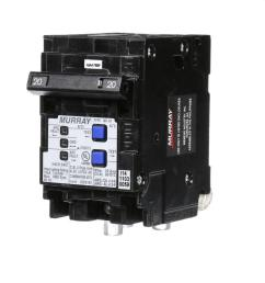 murray 20 amp double pole type mp at combination afci circuit breaker [ 1000 x 1000 Pixel ]