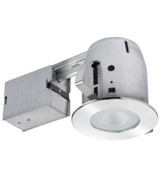 bathroom chrome recessed lighting kit with clear glass spot light [ 1000 x 1000 Pixel ]