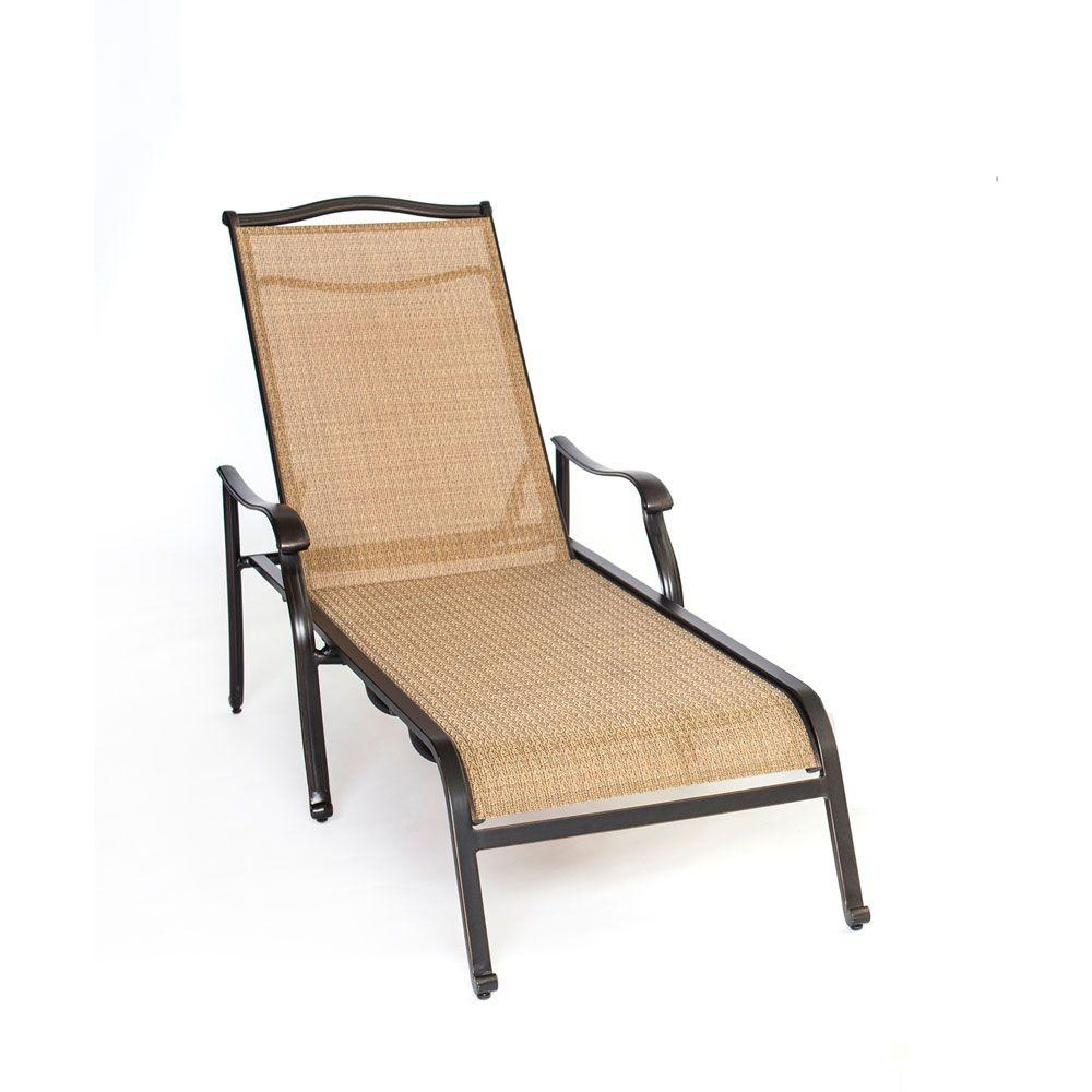 Hanover Monaco Patio Chaise Lounge ChairMONCHS  The Home