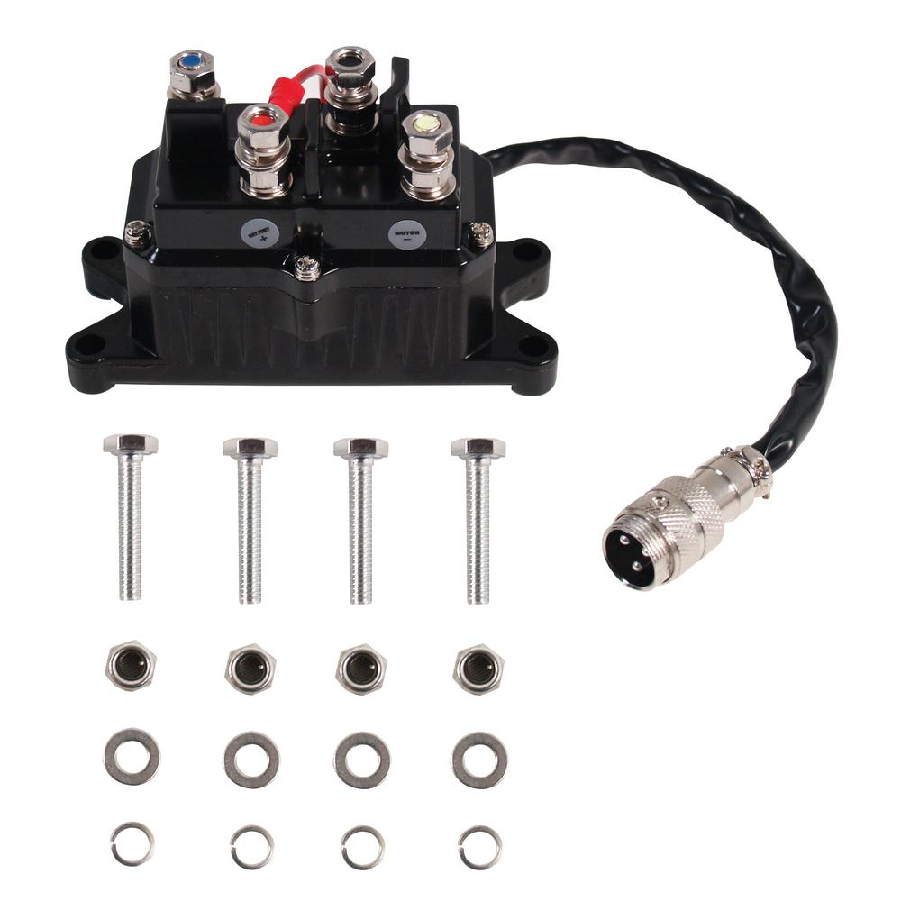 hight resolution of universal replacement contactor relay for 2000 3600 lbs atv winches