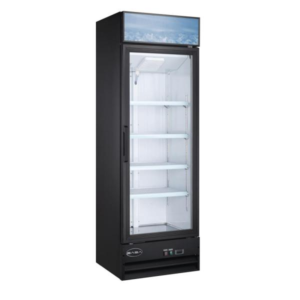Summit Appliance 2.45 Cu. Ft. Frost Free Upright Commercial Freezer In Black-scff1533b