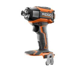 ridgid 18 volt gen5x lithium ion brushless cordless 1 4 in impact driver with belt clip tool only r86037n the home depot [ 1000 x 1000 Pixel ]
