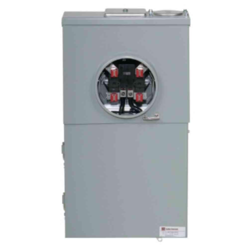medium resolution of eaton 200 amp 4 space 8 circuit br type main breaker meter breaker trailer