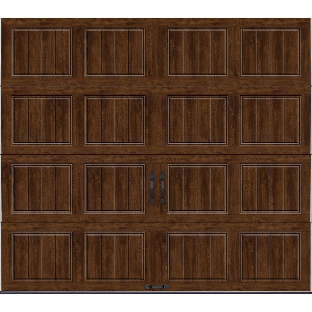 Clopay Gallery Collection 8 ft x 7 ft 184 RValue Intellicore Insulated Solid UltraGrain