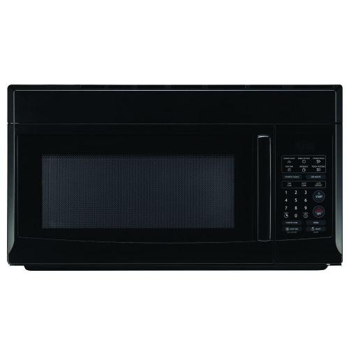 small resolution of magic chef 1 6 cu ft over the range microwave in black