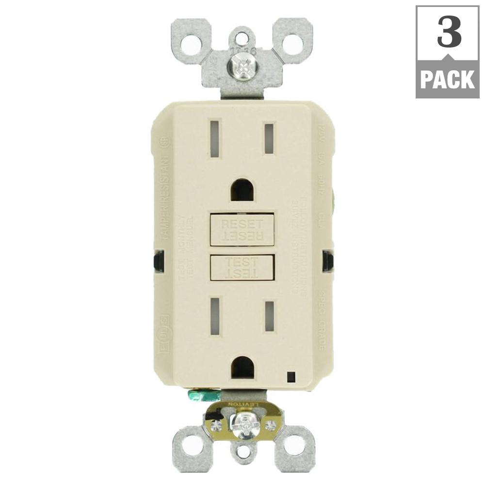 leviton dryer outlet wiring diagram plete diagrams honeywell round thermostat 15 amp 125 volt duplex smartest self test smartlockpro this review is from tamper resistant gfci light almond 3 pack