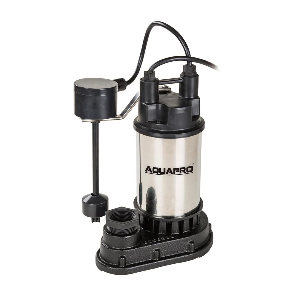 medium resolution of 1 hp submersible sump pump with direct in vertical float switch