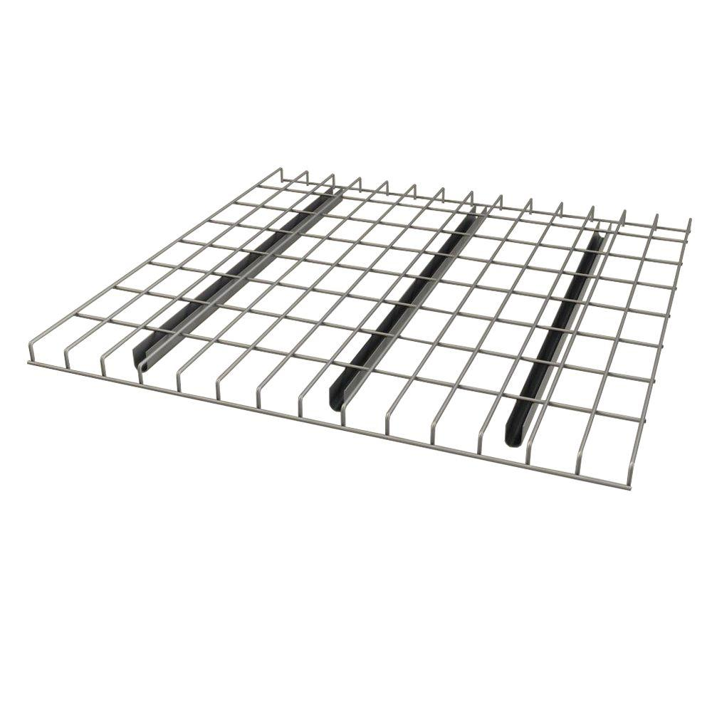 Sandusky 1.5 in. H x 58 in. W x 42 in. D Chrome Pallet