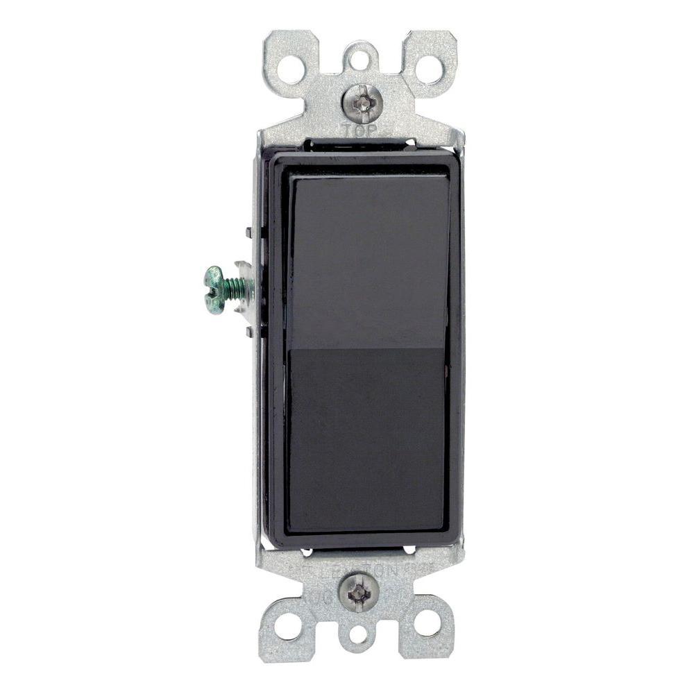 medium resolution of leviton decora 15 amp 3 way switch black