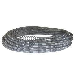 c 21 5 16 in x 50 ft hollow core drain cleaning cable with bulb auger [ 1000 x 1000 Pixel ]