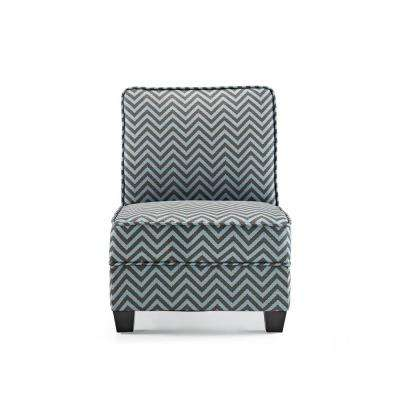 black and white paisley accent chair felt christmas covers chevron yes chairs the home depot ryder teal ziggi