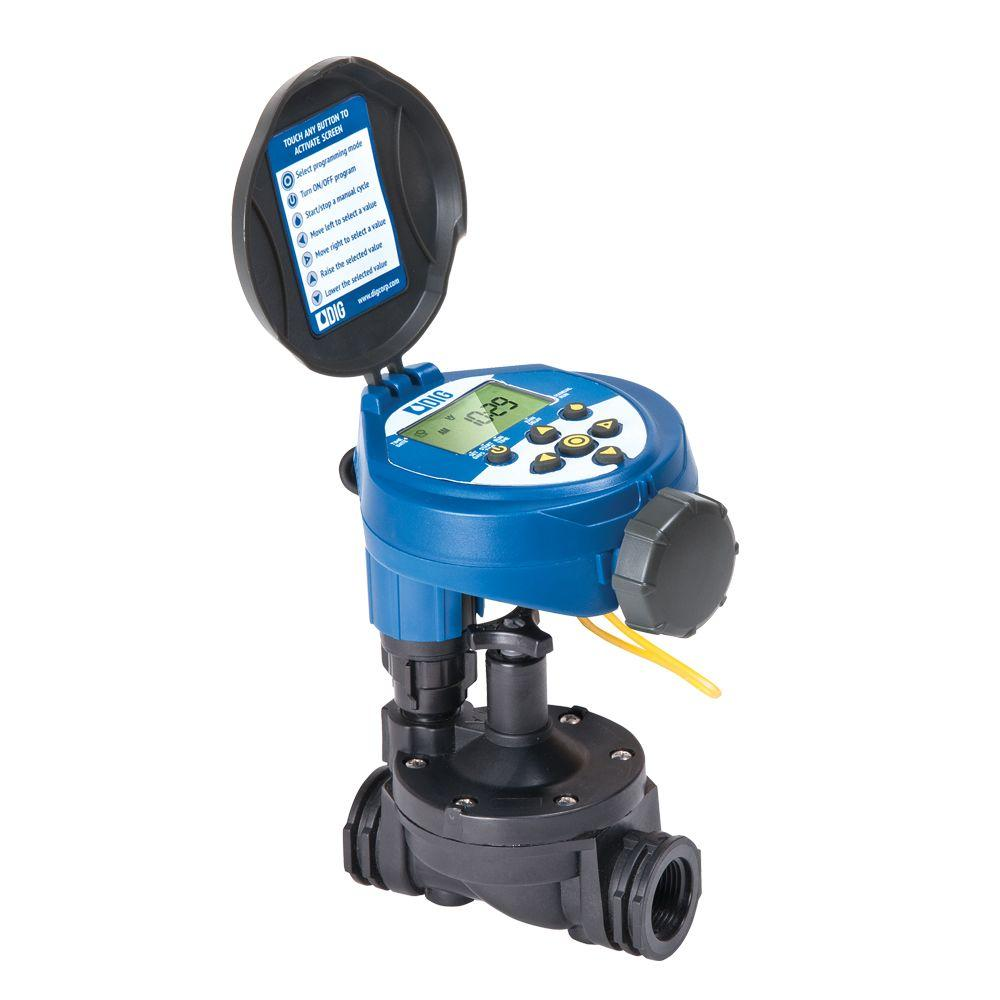 hight resolution of digital hose end and in line valve timer