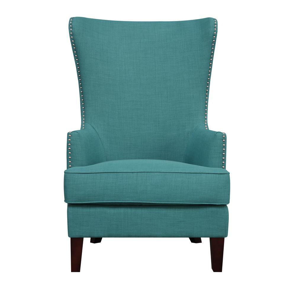 teal accent chair steel design image kegan ukr087100ca the home depot