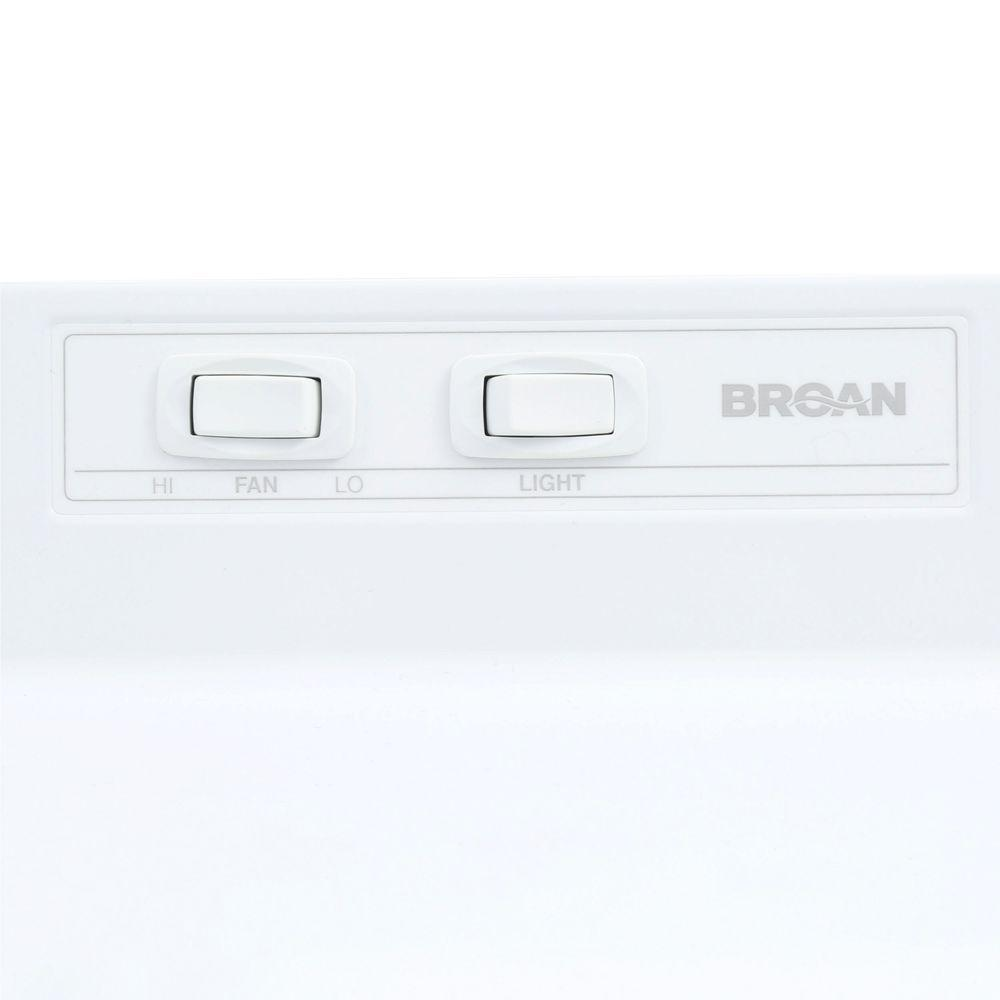 RANGE HOOD Broan 30 Inch Under Cabinet Over Stove Vent 190