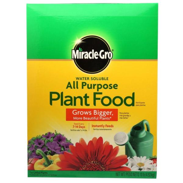 Miracle-gro 10 Lb. Water Soluble Purpose Plant Food