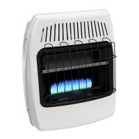 Dyna-Glo 20,000 BTU Blue Flame Vent Free LP Wall Heater ...