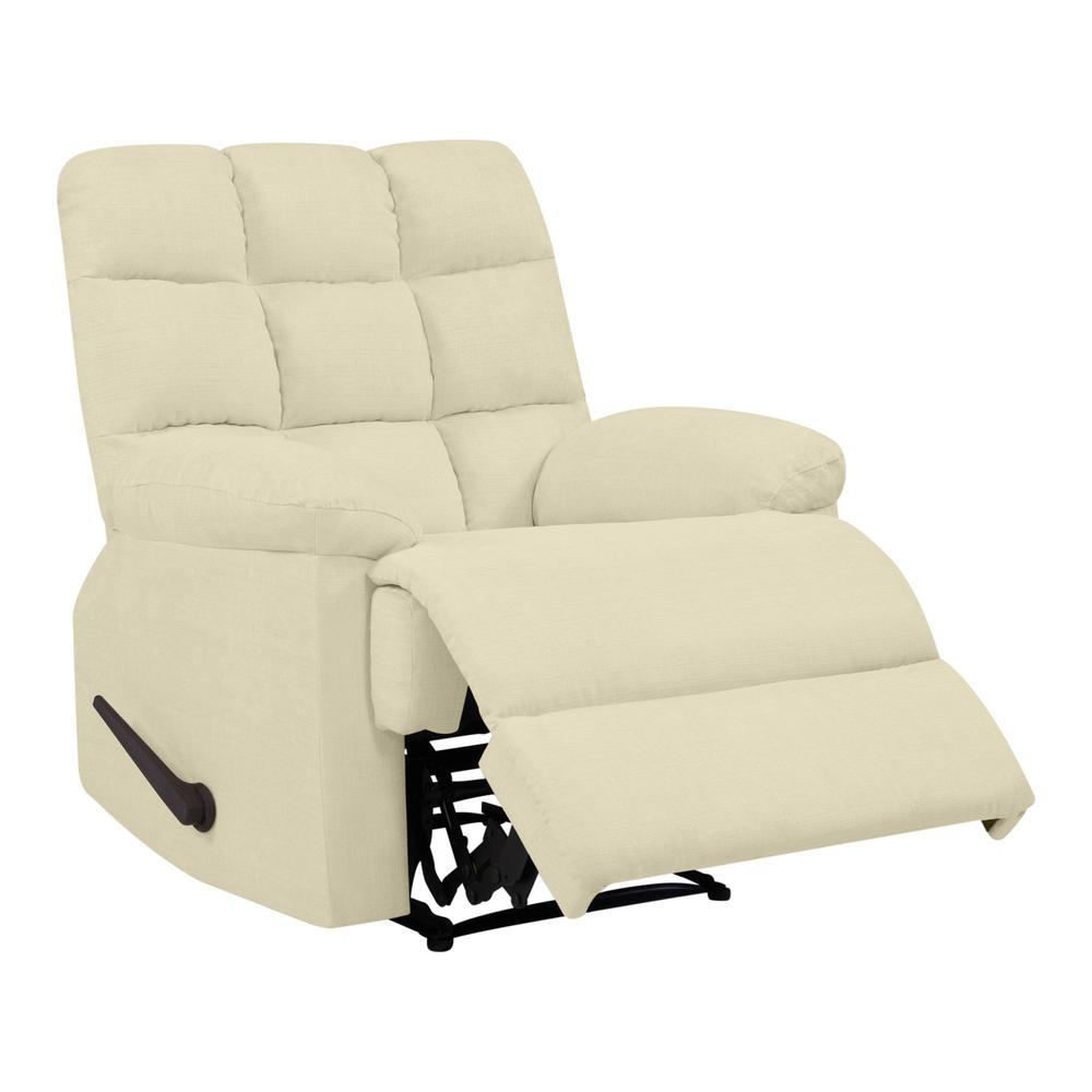 wall hugger recliner chair cowhide chairs nz prolounger creamy blanched almond reclining with biscuit stitch tufted back