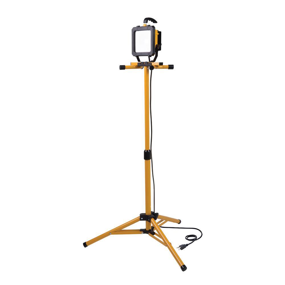 All-Pro 2500 Lumen LED Tripod Stand Work Light-WL2540LST