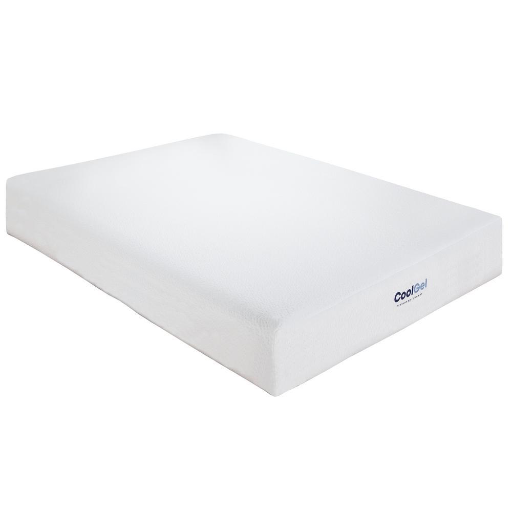 Cool Gel TwinSize 8 in Gel Memory Foam Mattress410069