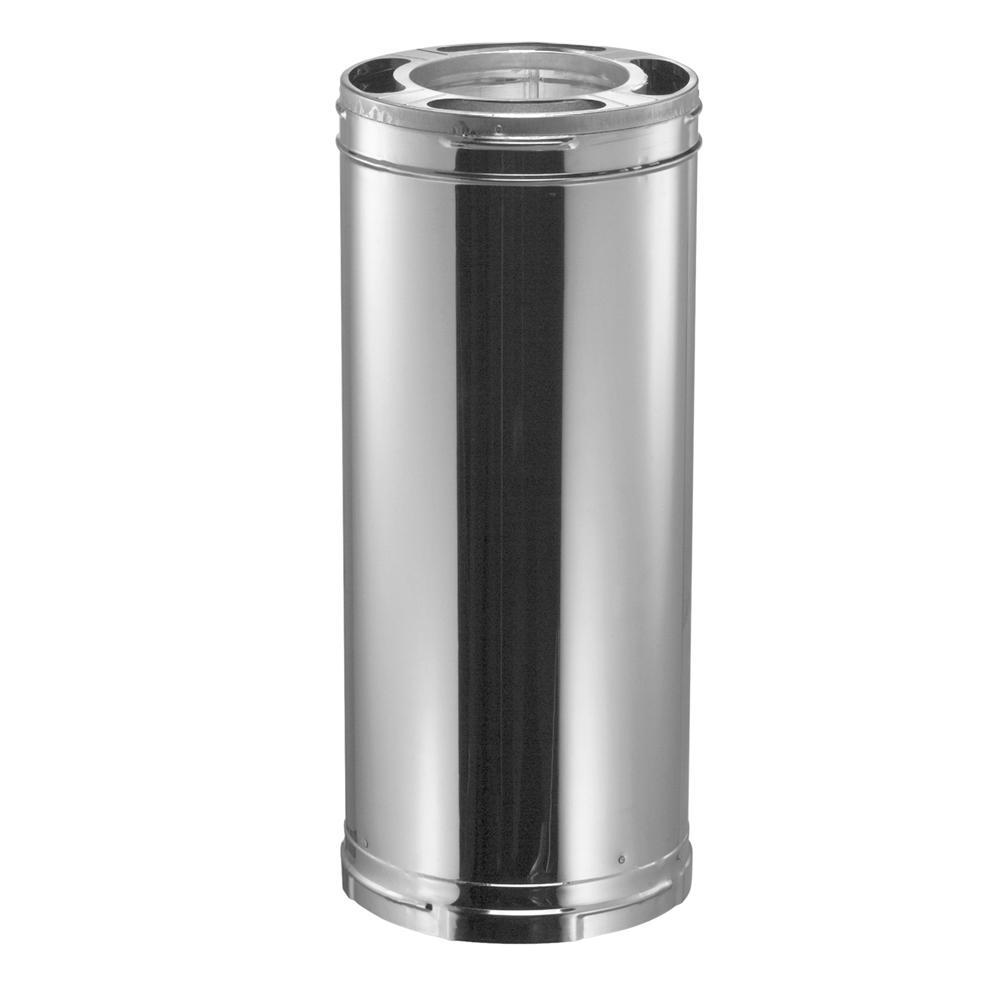 DuraVent DuraPlus 6 in. x 12 in. Stainless Steel Triple