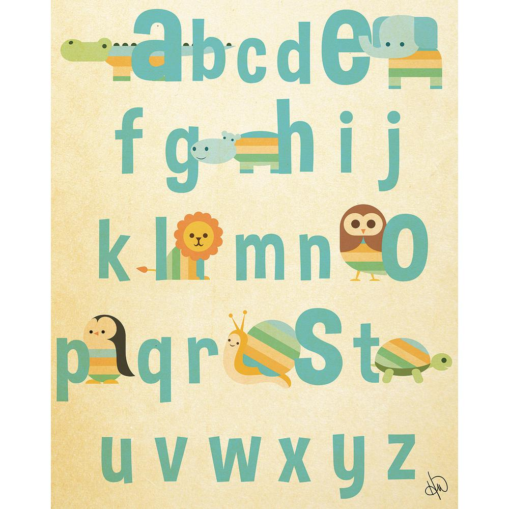 Alphabet Canvas Animal Nursery Wall Art Pictureta | iltribuno.com