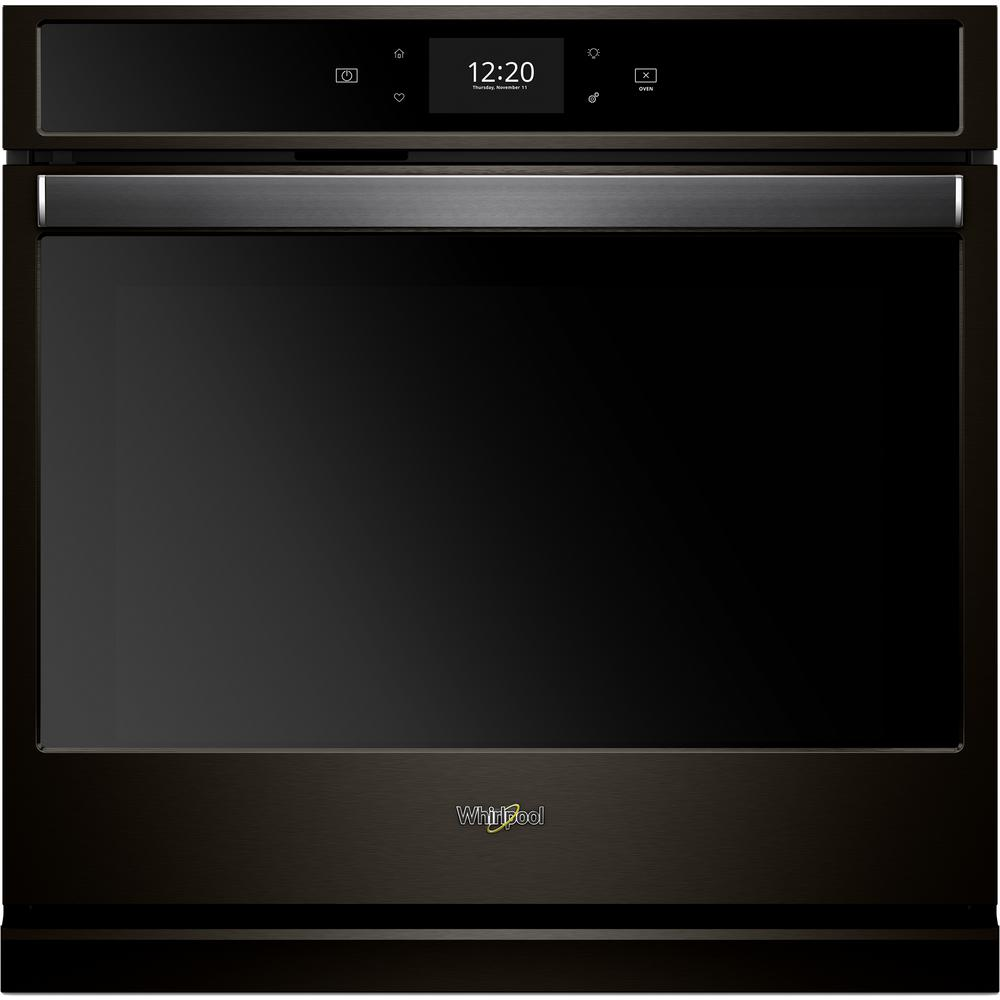 hight resolution of whirlpool 30 in smart single electric wall oven with true convection cooking in fingerprint resistant black stainless steel with microwave oven diagram
