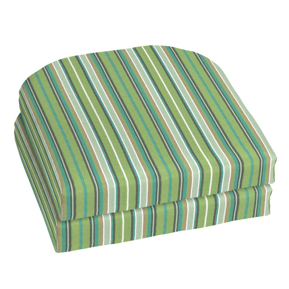 lime green chair pads desk low back home decorators collection 18 x sunbrella foster surfside outdoor cushion 2 pack
