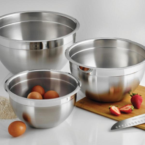 Tramontina Gourmet 8 Qt. Stainless Steel Mixing Bowl-80202