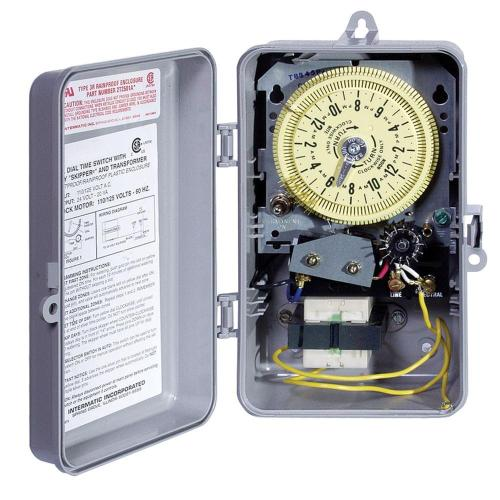 small resolution of t8800 series 125 volt input with 24 volt output indoor outdoor irrigation sprinkler timer