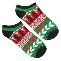 Amscan Ugly Sweater Christmas No Show Socks (2-Count, 8 ...