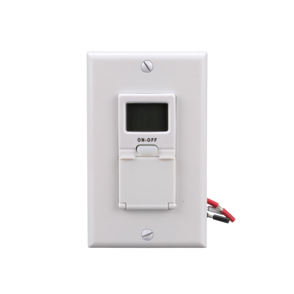 hight resolution of woods 15 amp 7 day in wall programmable digital timer switch white
