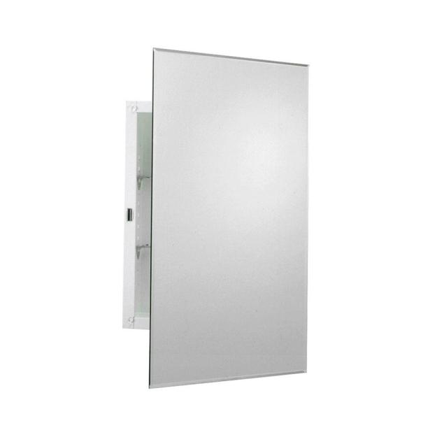 zenith 16 in. w x 26 in. h frameless recessed or surface mount