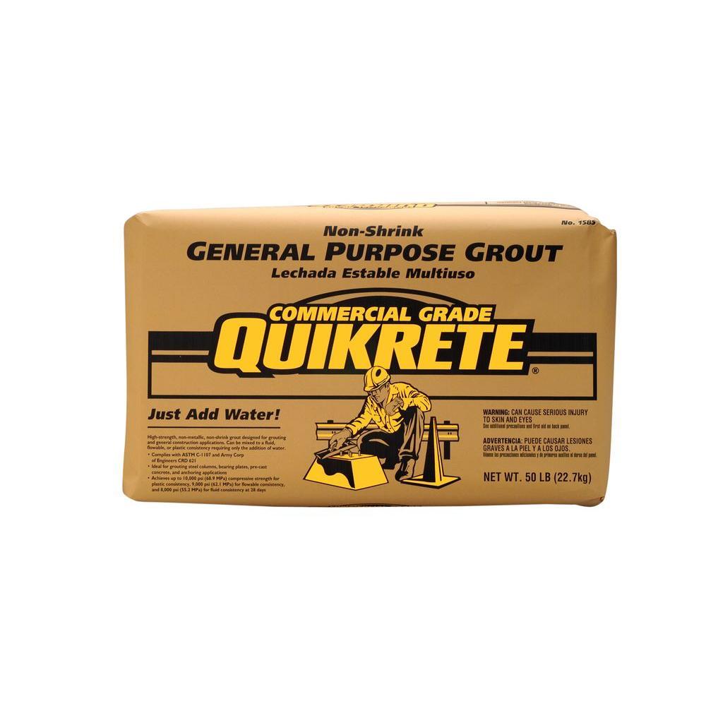 Mix Lb Setting Quikrete Concrete Fast