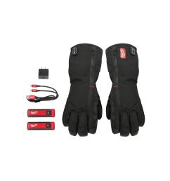 milwaukee medium heated gloves with battery and charger [ 1000 x 1000 Pixel ]